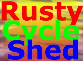 Rusty Cycle Shed